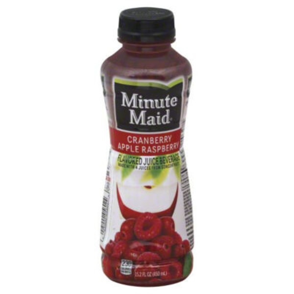 Minute Maid Juices To Go Cranberry Apple Raspberry Juice Beverage