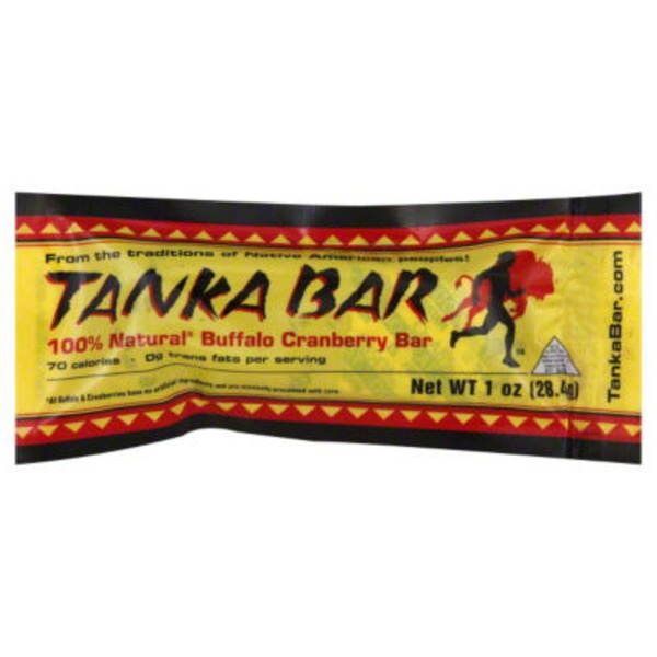 Tanka Buffalo Cranberry Bar