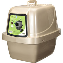 Van Ness CP66 Enclosed Sifting Cat Pan/Litter Box Large