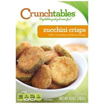 CRUNCHtables Crouton Coated Zucchini Crisps