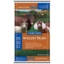 Family Farm Wagon Train Animal Feed