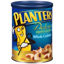 Planters Deluxe Lightly Salted Whole Cashews