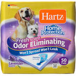 Hartz Home Protection Odor-Eliminating Dog Pads