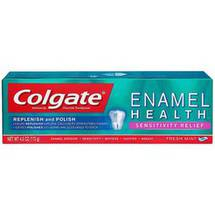 Colgate Enamel Health Sensitivity Relief Fresh Mint Anticavity Fluoride Toothpaste