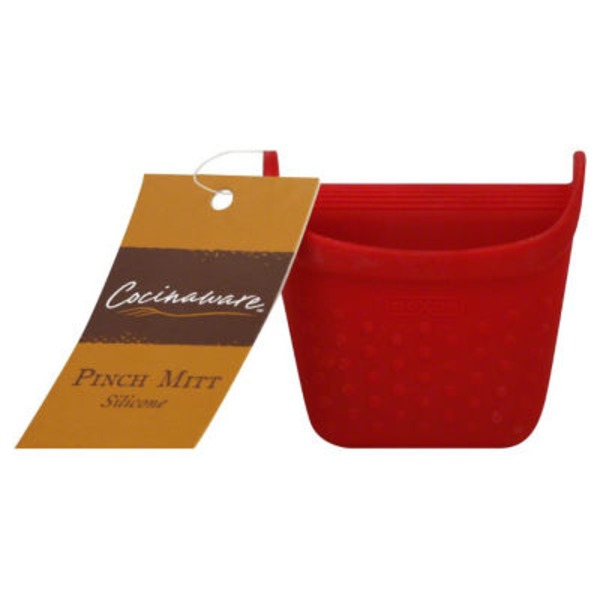 Cocinaware Red Silicone Pinch Mitt