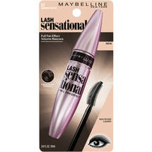 Maybelline New York Lash Sensational Mascara 00 Blackest Black Brownish Black