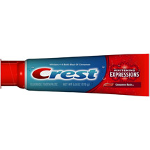Crest Whitening Expressions Cinnamon Rush Toothpaste