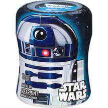 Trident White Star Wars R2-D2 Spearmint Sugar Free Gum