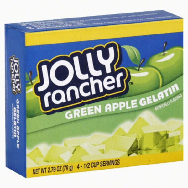 Jolly Ranchers Green Apple Gelatin
