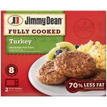 Jimmy Dean Turkey Patties Sausage