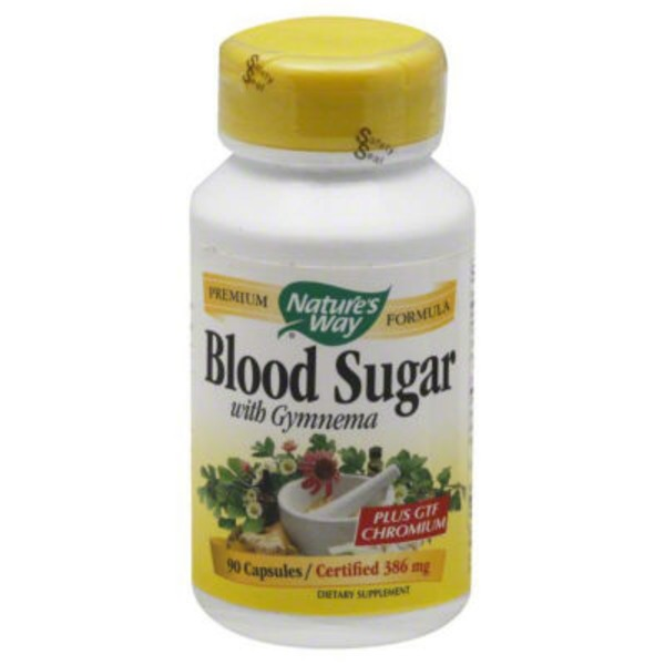 Nature's Way Blood Sugar with Gymnema Capsules