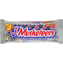 3 Musketeers Fun Size Candy Bars