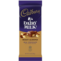 Cadbury Organic Milk Chocolate w/Roasted Almonds