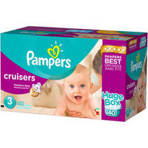 Pampers Cruisers Diapers Huge Box Size 3