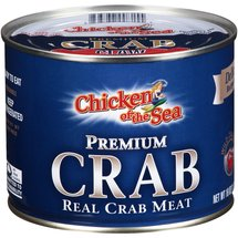 Chicken of the Sea Premium Crab Real Claw Crab Meat