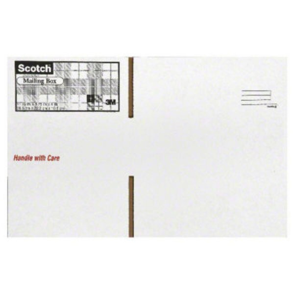 Scotch White Mailing Boxes