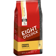 Eight O'Clock French Vanilla Ground Coffee