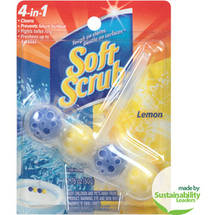 Soft Scrub Lemon 4-in-1 Toilet Care