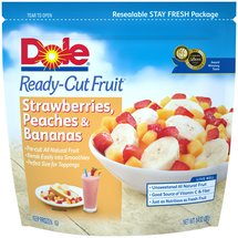 Dole Strawberries Peaches & Bananas Ready-Cut Fruit