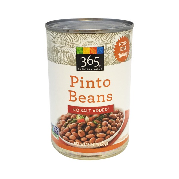 365 Pinto Beans No Salt Added
