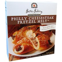 Better Bakery Philly Cheesesteak Pretzel Melt