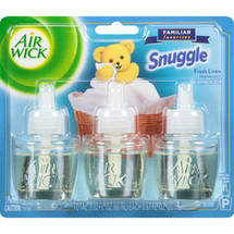 Air Wick Scented Oil Familiar Favorites Snuggle Fresh Linen Air Freshener Refills