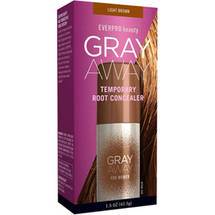 Everpro Beauty Gray Away for Women Temporary Root Concealer Light Brown