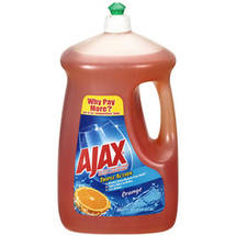 Ajax Triple Action Orange Dish & Hand Soap
