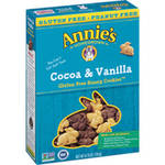 Annie's Homegrown Cocoa & Vanilla Gluten Free Bunny Cookies