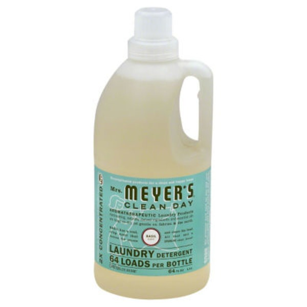 Mrs. Meyer's Basil Scent Laundry Detergent