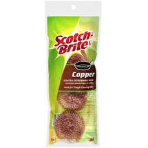 Scotch-Brite Copper Coated Scrubbing Pads