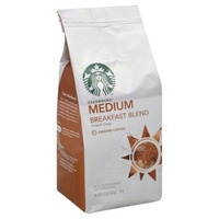 Starbucks Medium Breakfast Blend Ground Coffee