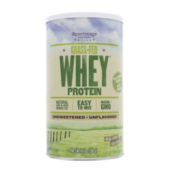 Reserveage Organics Grass Fed Whey Unflavored