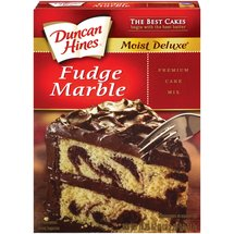 Duncan Hines Moist Deluxe Fudge Marble Cake Mix