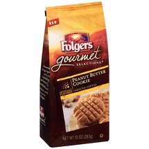 Folgers Gourmet Selections Peanut Butter Cookie Ground Coffee