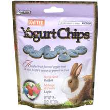 Kaytee Rabbit Berry Blend Yogurt Chips