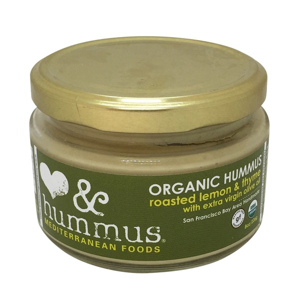 Love And Hummus Organic Roasted Lemon Thyme Hummus