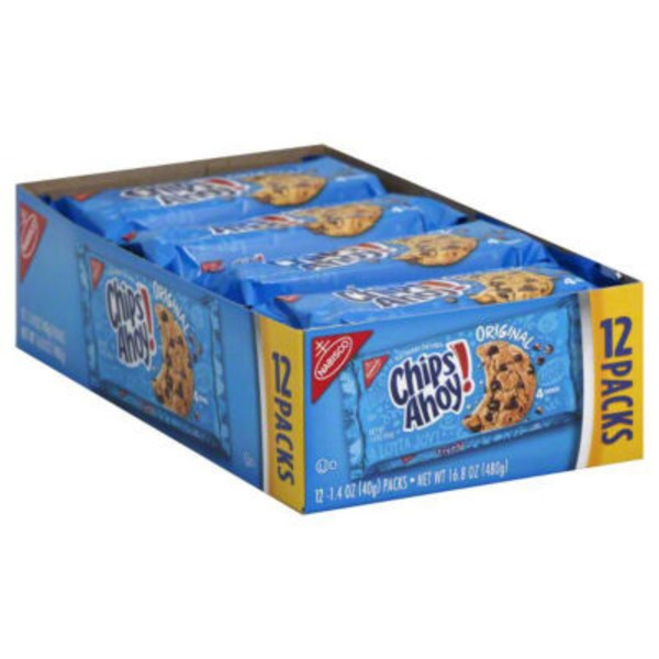 Chips Ahoy! Chocolate Chip Packs Cookies
