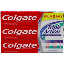 Colgate Original Mint Triple Action Fluoride Toothpaste