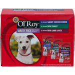 Ol' Roy Gourmet Dog Food Pack