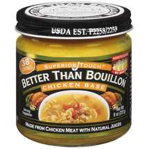 Superior Touch Better Than Bouillon Made From Chicken Meat w/Natural Juices Chicken Base