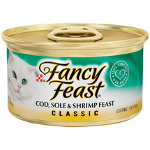 Fancy Feast Cod Sole & Shrimp Feast Cat Food