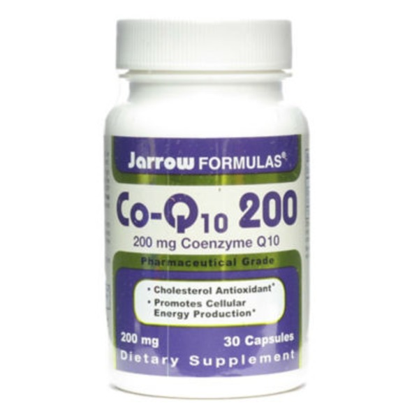 Jarrow Co Enzyme Q10, 200mg
