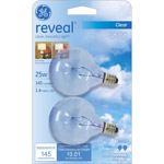 GE reveal® 25 watt G16.5
