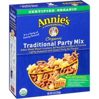 Annie's Homegrown Organic Traditional Party Mix Snack Mix, Organic