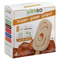 Yasso Sea Salt Caramel Frozen Greek Yogurt Bars