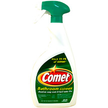 Comet Bathroom Spray Value Size