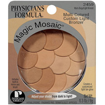 Physicians Formula Magic Mosaic Multi-Colored Custom Bronzer Warm Beige/Light Bronzer 2459