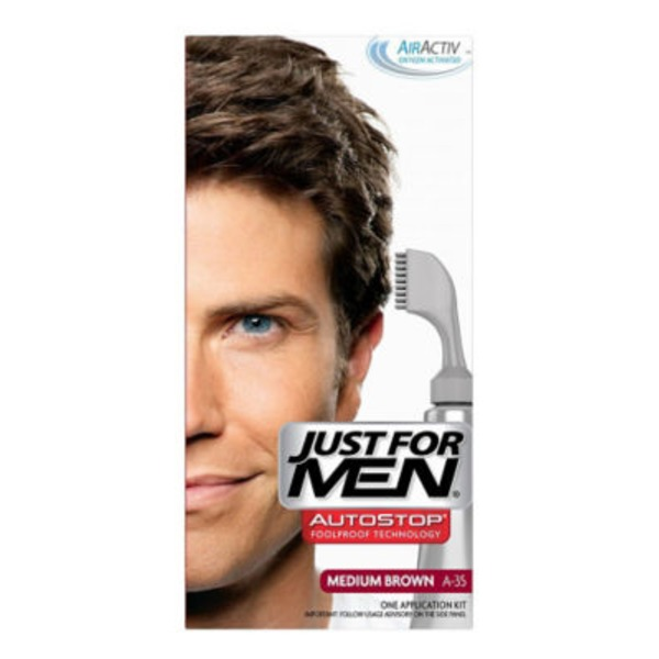 Just For Men Color Application Kit Medium Brown A-35