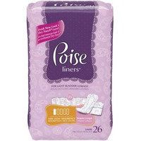 Poise Very Light Absorbency Regular Length Incontinence Liners